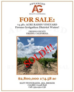 Sold 74.58 ac